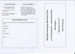 Folder BVME 2015 achterzijde